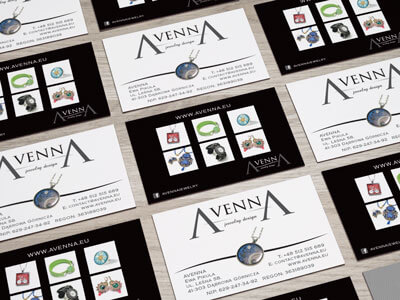 Avenna Business Cards