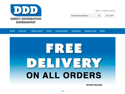 Direct Distribution Dunmanway website