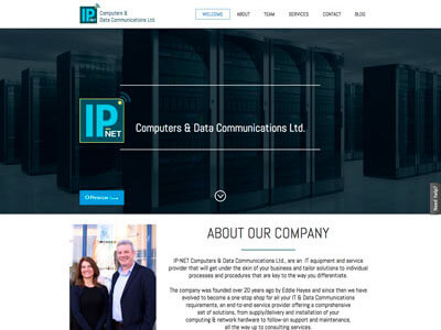 IP Net website